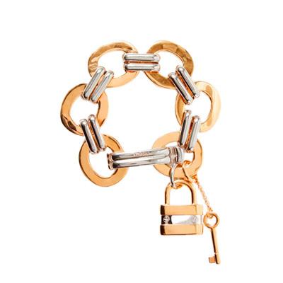 Серебряно-золотой браслет Chloé Colleen