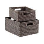 Ящики для хранения из ротанга