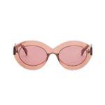 Овальные солнцезащитные очки Enhanced Femininity Nude