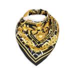 Шелковый шарф с принтом Baroque