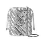 Мини-сумка GG Marmont с пайетками